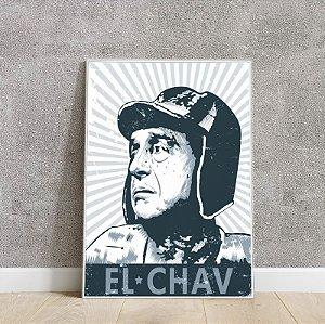 Placa decorativa Chaves