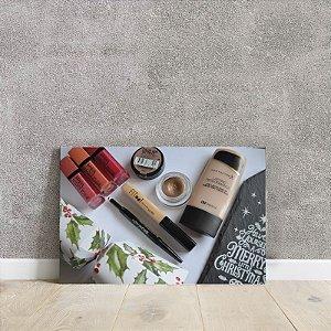 Placa decorativa de maquiagem 2