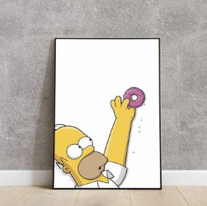 Placa decorativa the Simpsons 2