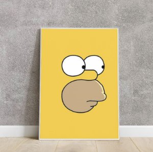 DUPLICADO - Placa decorativa the Simpsons 3