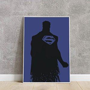 placa decorativa do Super Man