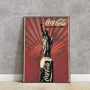 placa decorativa do Coca cola 2