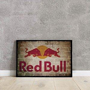 placa decorativa da Red Bull