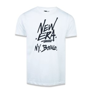 Camiseta New Era NY Buffalo Fashion Branded Creme