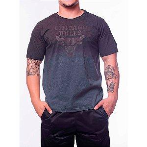 Camiseta NBA Long Line Chicaco Bulls