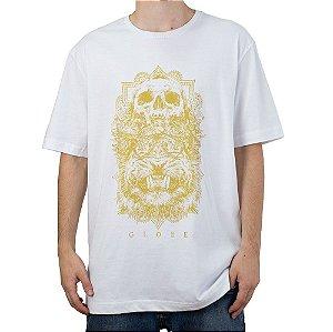 Camiseta Globe Skull Branco