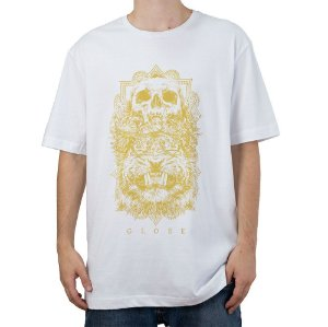 Camiseta Básica Globe Skull