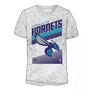 Camiseta NBA Charlotte Hornets 17 Marmorizada Cinza