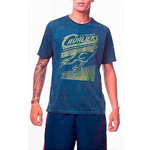 Camiseta NBA Cleveland Cavaliers Marmorizada Azul