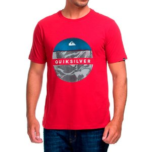 Camiseta QuikSilver Outer Vermelha