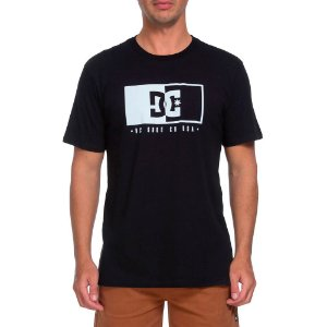 Camiseta DC SHOE CO USA Preta