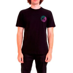 Camiseta QuikSilver Básica Preta