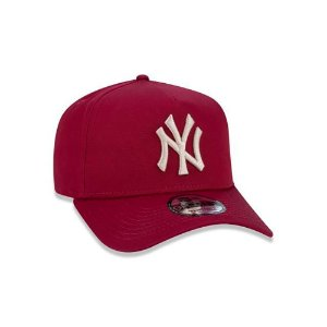 Boné New Era 940 MLB New York Yankees A-Frame Vermelho
