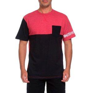 Camiseta DC Especial Clewiston Vermelho