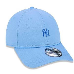 Boné New Era 940 MLB New York Yankees Mini Logo NY OSFM Blue