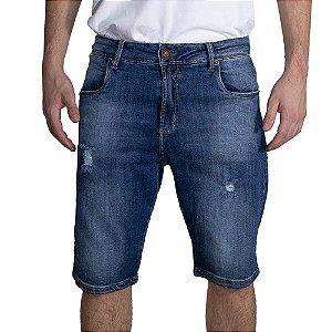 Bermuda Surf Trip Jeans Puídos