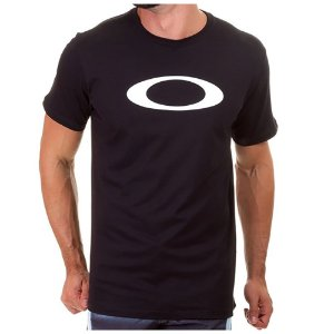 Camiseta Oakley O-Ellipse Tee Blackout