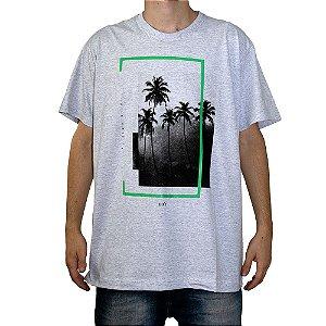 Camiseta Keek's La Playa Cinza