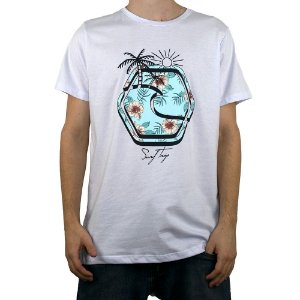 Camiseta Surf Trip Logo Trip Branco