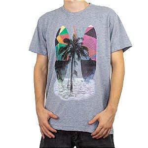 Camiseta Keek's Paradise Cinza