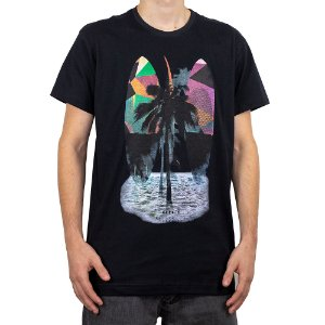 Camiseta Keek's Paradise Preto