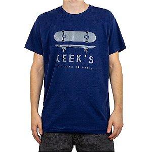 Camiseta Keek's Skate Azul