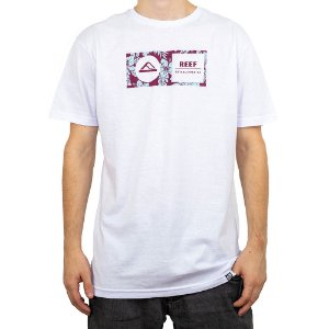 Camiseta Reef Mid Capsula Corporativa Branco