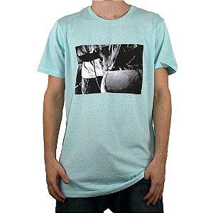 Camiseta Surf Trip Prancha Verde Claro