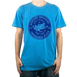 Camiseta Surf Trip Paradise Azul