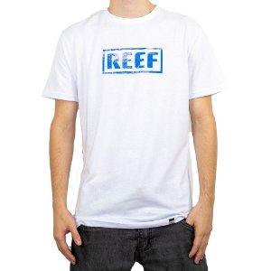 Camiseta Reef Destroyed Branco