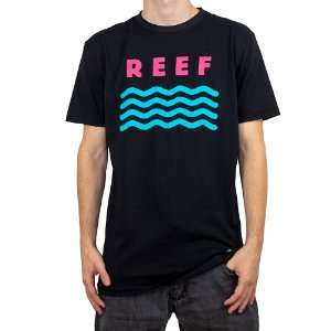 Camiseta Reef Wave Preto