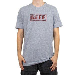Camiseta Reef Destroyed Cinza