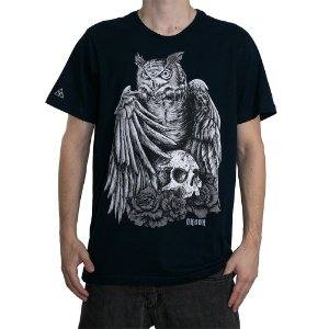 Camiseta Okdok Hunter Owl Marinho