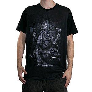 Camiseta Okdok Ganesha Preto