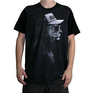 Camiseta Okdok Lion Preto