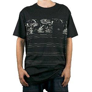 Camiseta Hang Loose Especial Volcano Full Preto