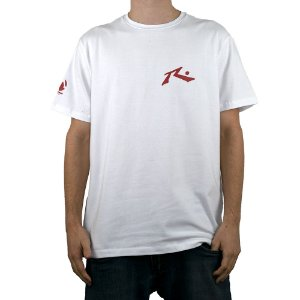 Camiseta Rusty Amphibious Competition Branco