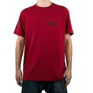 Camiseta Rusty Amphibious Competition Vermelho