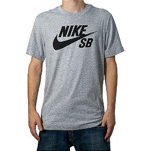 Camiseta Nike SB Dry Cinza