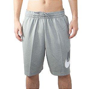 Bermuda Nike SB Cordão Elástico Dry Hibrida Cinza