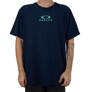 Camiseta Oakley Bark New Tee Marinho