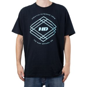 Camiseta HD Creative Outsiders Crew Preto