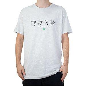 Camiseta 4:20 Life Bud Branco