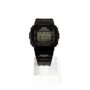 Relógio G-Shock Digital DW5600E-G9VQ Preto
