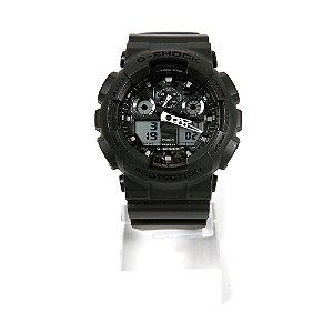 Relógio G-Shock Anadigi GA-100CF-8ADR Preto
