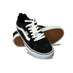 Tênis Vans Filmore Suede Canvas Black/White