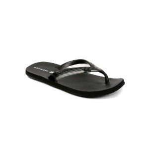 Chinelo Kenner Acqua Glass THP Cristal Preto