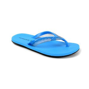 Chinelo Kenner Acqua Glass THP Cristal Azul Turquesa