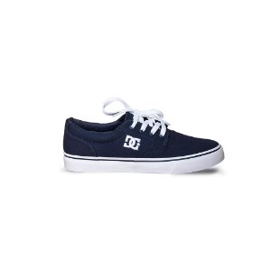 Tênis DC New Flash 2 TX Navy/White