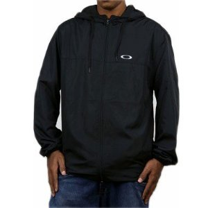 Jaqueta Oakley Corta Vento Windbreaker Blackout